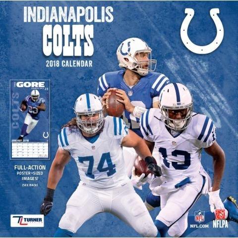 Indianapolis Colts 2018 Calendar