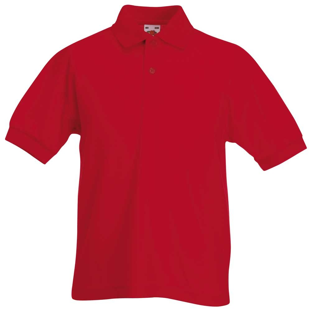 Fruit of the Loom Kids 65//35 Pique Polo