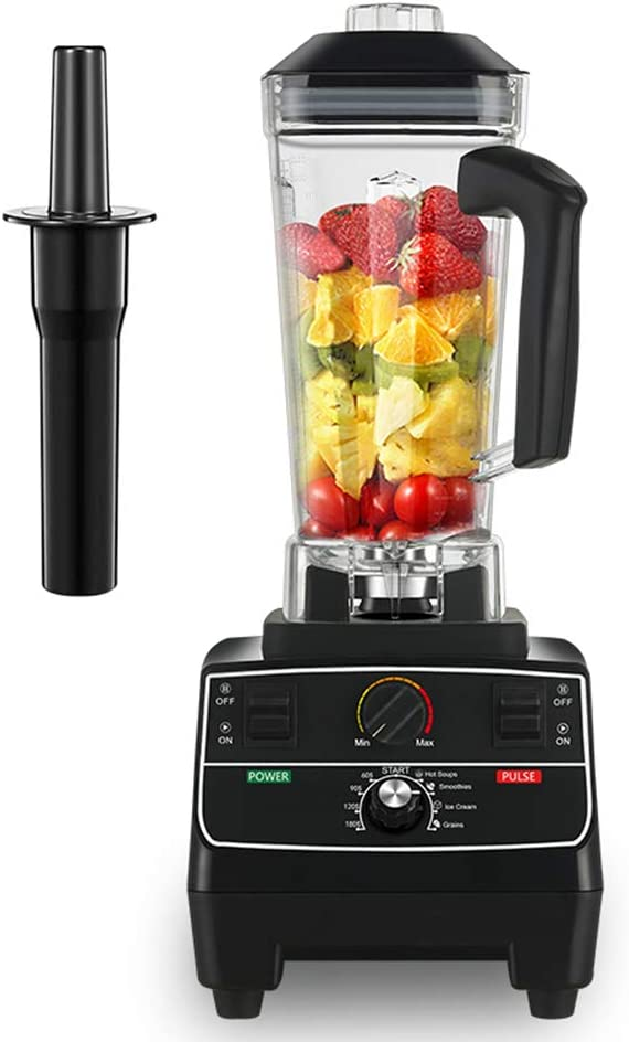 2L Smoothie Maker/Mixer, Countertop Blender Jug Blenders with Pre-programmed Settings, Variable Speed and Timer Control and Self-Cleaning,220V EU Plug