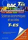 Sciences économiques et sociales Tle ES : Enseignements obligatoire et de spécialité par Lebel