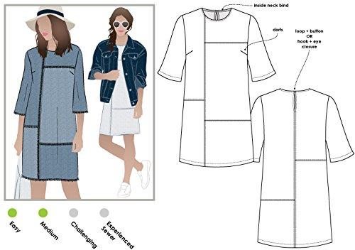 4 panel dress pattern - 1