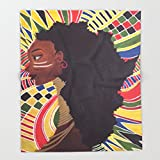 Society6 Alkebulan (Africa) Throw Blankets 51'' x 60'' Blanket