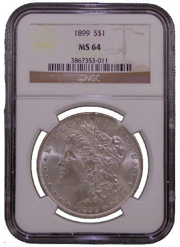 1899 Morgan Dollar NGC MS-64