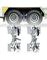 X Chock Wheel Stabilizer Wheel Chock Camper Accessories for Travel Trailers,Open 3.5'' to 10'',2 Packs, for RV/Campers/Travel Trailers/Trucks