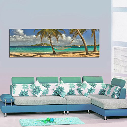 Youkuart canvas prints wall art sea beach Canvas Print Paintings for Wall and Home Décor xm005