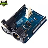 DMX Shield For Arduino It Is Very Convenient To Connect The Arduino Device To The DMX512 Network Remote Music Equipment Control DMX Host RDM Forwarding Machine