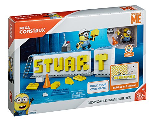 Mega Construx Despicable Me Name Builder Set -