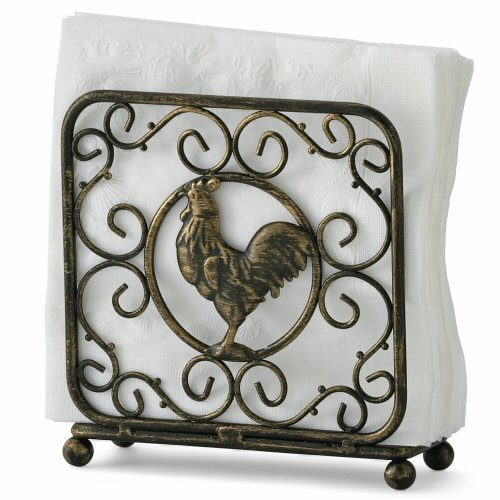 Paula Deen Signature Pantryware Upright Rooster Napkin Holder