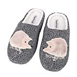 PURFUN Teens Adults Winter Thermal Thick Coral Fleece Slippers Cozy Comfort Antiskid Slip-On House Home Indoor Slippers Footwear Shoes
