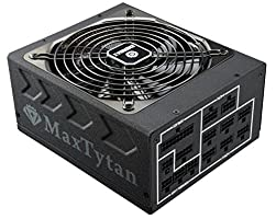Enermax MaxTytan 80 PLUS Titanium certified Full Modular 800W Power Supply with Amazing DFR Tech and D.F. switch, Individual Sleeved Cable, Smart Semi-fanless function, 10 years Warranty, EMT800EWT