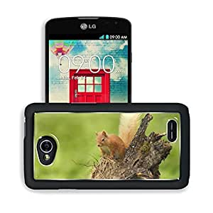 Animals Squirrels Stand Dead Wood LG Optimus L70 Dual D325 Snap Cover Premium Aluminium Design Back Plate Case Open Ports Customized Made to Order Support Ready 5 2/16 Inch (130mm) X 2 12/16 Inch (70mm) X 11/16 Inch (17mm) MSD L70 Professional Cases Acces
