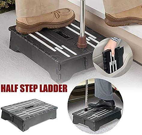 Pieghevole Step Feci,Retrattile Scaletta Step Feci Scaletta Pieghevole Scala Gradini Pedale Anti-slittamento Usato Per Superiore Auto//Bagno
