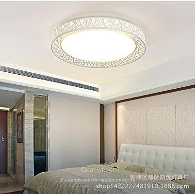 bbslt moderno minimalista Fashion LED lámparas de techo Iluminación ...
