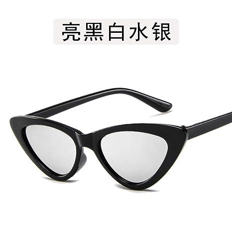 Yangjing-hl Gafas Gafas Gafas Cien Ojos de Gato Gafas de ...