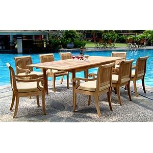 51sZvlh15cL._SS300_ Teak Dining Tables & Teak Dining Sets