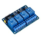kuman 4 Channel DC 5V Relay Module for Arduino Raspberry Pi DSP AVR PIC ARM K49