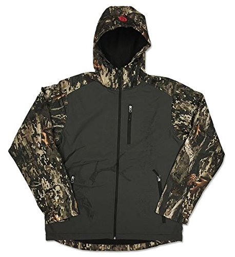 Black Antler Mens Jacket Dagger 2X Charcoal/Camo