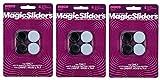 Magic Sliders L P 4225 4 Pack 7/8''-1'' RND Slider (Тhree Pаck)