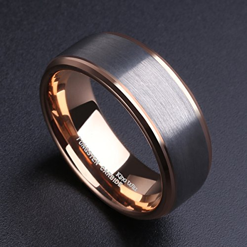 king-will-8mm-tungsten-carbide-wedding-band-for-men-rose-gold-plated-beveled-polished-comfort-fit-9