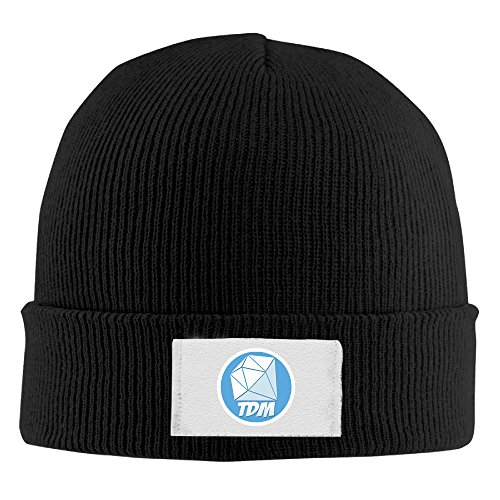 Creamfly Adult TDM Diamond Mine Wool Watch Cap Black