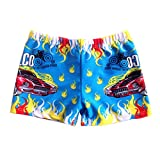 Boy's Swimwear Sport Shorts Beach Shorts Swim Trunks,Blue