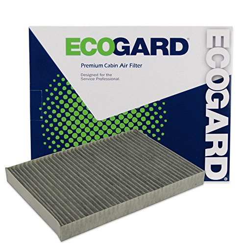 ECOGARD XC35677C Cabin Air Filter with Activated Carbon Odor Eliminator - Premium Replacement Fits Chrysler 300 / Dodge Charger, Magnum, Challenger