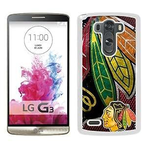 Chicago Blackhawks White Fantastic Design LG G3 Phone Case