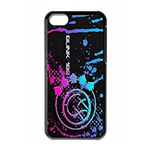 Custom High Quality WUCHAOGUI Phone case Blink 182 Pattern Protective Case For iphone 5/5s iphone 5/5s - Case-14