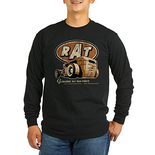 Lowdown Jacket (CafePress - RAT - Low Down Long Sleeve T-Shirt - Unisex Cotton Long Sleeve)