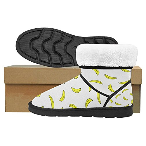4 Designed Unique Snow Boots InterestPrint Winter Boots Comfort Womens Multi qwxOICzU