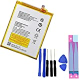 UoUo for ZTE Blade Z982 Z MAX ZMAX Battery 4080mAh Li3940T44P8h937238 Batteries Repair Replacement Adhesive and Tools