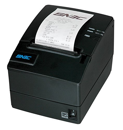 SNBC 132086 Model BTP-R980III Ultra-High Speed Thermal POS Receipt Printer with USB + Serial + Ethernet Interfaces, Resolution 203 DPI x 203 DPI, Blazing Fast 310mm/Second Print Speed by SNBC