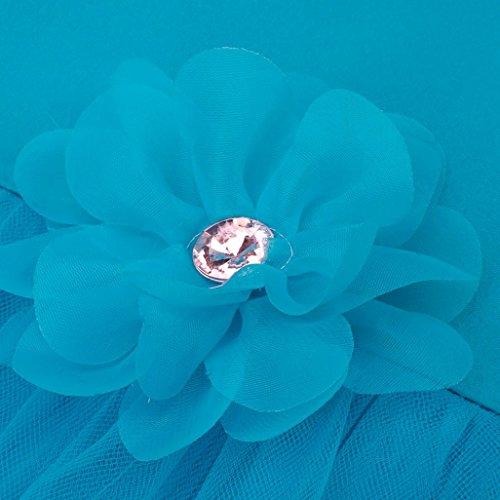 Amlaiworld Demoiselle D'honneur Bleu Robe Concours De Fleur Clair Partie Mariée ❤️robe Filles Princesse Fille RfrqxSRw