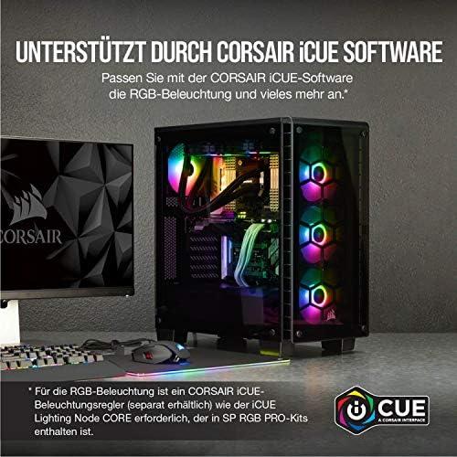 Corsair Icue Sp120 Rgb Pro 120mm Rgb Led Schwarz Computer Zubehör