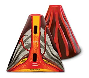 Learning Resources Crosssection Volcano Model