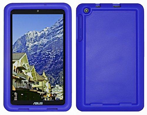 Bobj Rugged Case for ASUS MeMO Pad 8 (ME181C, ME181CX, K011, MG8, MG181C, MG181CX) and ASUS VivoTab 8 (M81C, K01G) - BobjGear Custom Fit - Sound Amplification - Kid Friendly (Batfish Blue)