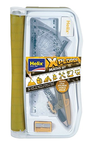 Math Explorer - Helix 171512 Explorer Maths Set and Stencil