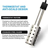 Gesail 1500W Electric Immersion Heater, UL-Listed