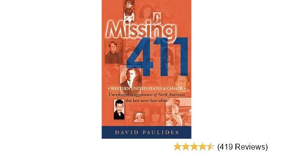 Missing 411-Western United States & Canada: Unexplained ...