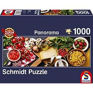 Schmidt Spiele 58374 Puzzle Da 1000 Pezzi Soggetto Cucina Italiana Multicolore