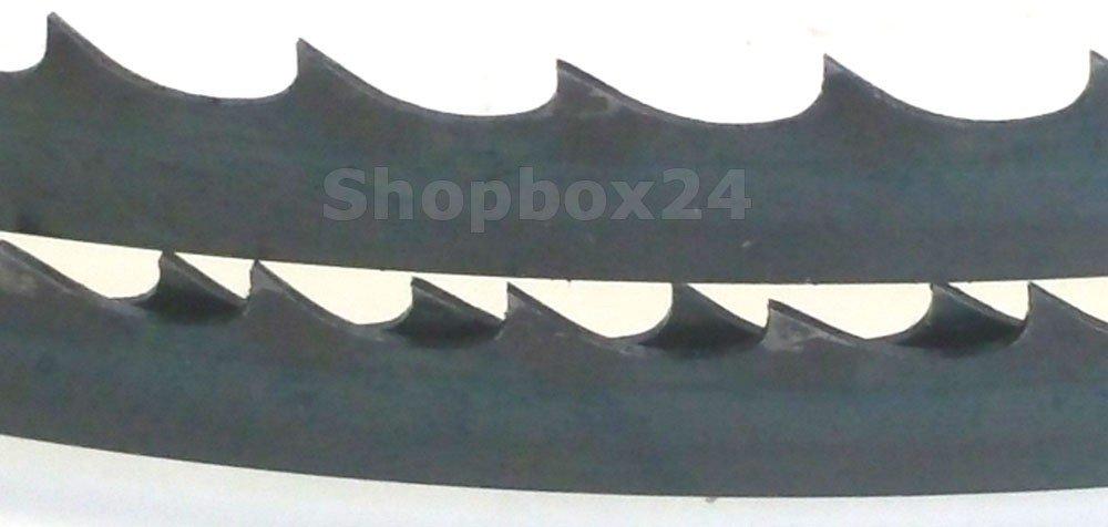 Brennholz Sperrholz ideale Bandst/ärke f/ür Holz Hartholz Premium S/ägeband Bands/ägeband Bands/ägeblatt 1400 mm x 6 mm x 0,36 mm x 4 Z/ähne pro Zoll Quer- und Schweifschnitte