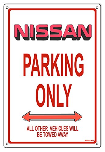 Miscellaneous Parking Signs (Nissan Parking Only Sign 12