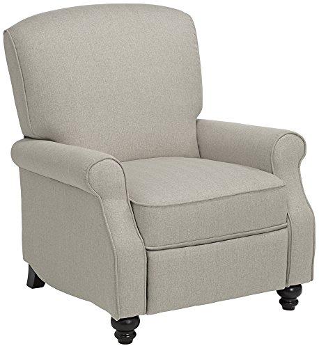 Jerrod Barley Herringbone Push Back Recliner Chair For Sale