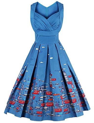 Vintage loves retro Hepburn Dresses