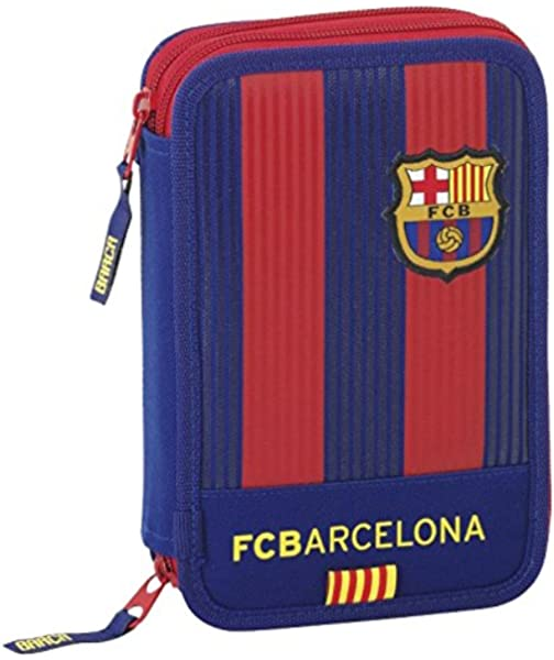 Safta Estuche F.C. Barcelona 1ª Equip. 16/17 Oficial 34 Útiles Incluidos 135x45x205mm: Amazon.es: Juguetes y juegos