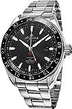 Alpina Alpiner 4 GMT Automatic Black Dial Stainless Steel Mens Watch AL-550G5AQ6B