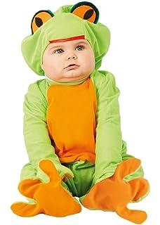 fd7961e2d Baby Girls Boys Green Frog Animal Halloween Fancy Dress Costume Outfit 6-12  12-