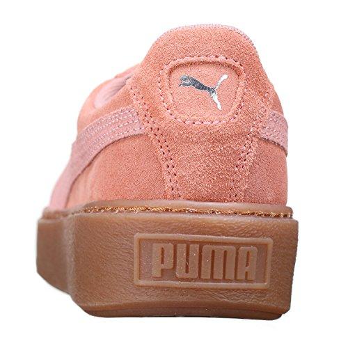 Puma - Suede Platform Animal - Brown/Silver - 40