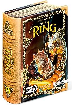 GENX Richard Wagners The Ring of The Nibelung - Juego de Mesa [Castellano]: Amazon.es: Juguetes y juegos
