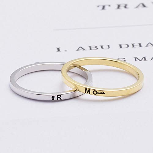 1de183eb726be Amazon.com: Graceful Rings Gix Minimalist Couples Jewelry Cute ...